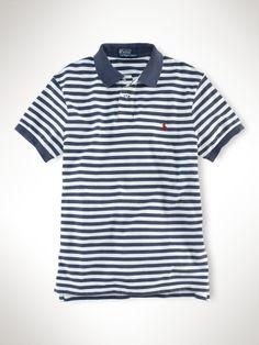 Striped polo polo for polo (striped)