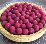 Fast Paleo » Mix-Berry Tart With Coconut Whipped Cream - Paleo Recipe Sharing Site