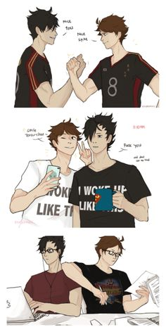 Oikuroo (don't ship them romantically but I think they'd be great college bros)