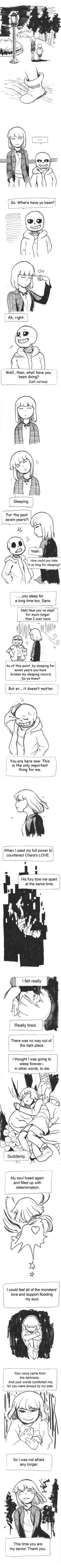 Stand-in Chapter one 05 Let me explain: Chara doesn't hate Frisk here, the only thing he wants to do is to provoke Sans. ====== ○ Relationship: Sans x Frisk ○ In this story, Chara ...
