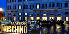 Maison Moschino (Milan,Italy): Italian fashion label Moschino turned this neoclassical train station into a trendsetting hotel. Moschino, Top Ski, Milan Hotel, Milan Italy, Curvy Women Fashion, Neoclassical, Italian Fashion, Fashion Labels, Best Hotels