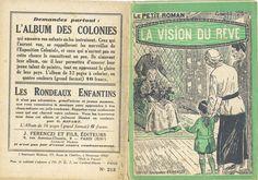 Georges Vallée - René Claude, La vision de rêve, Ferenczi Le Petit Roman n°215, n° d'éd. absent, 25 février 1932. hebdo, 32 pages.