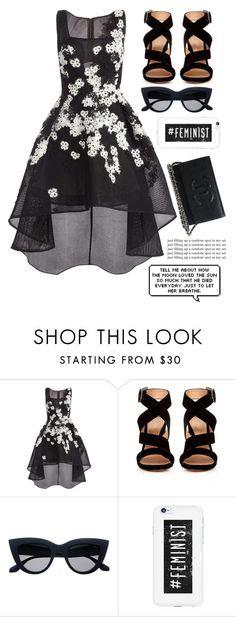 """""""Untitled #495"""" by i-found-wonderland ❤ liked on Polyvore featuring Jovani and Gianvito Rossi"""