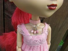 Berry Nice Doll Choker Necklace for Pullip and Blythe by finasma