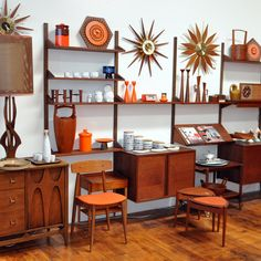A little too busy--I think the number of clicks can be reduced 67%--but still interesting. Danish modern heaven.