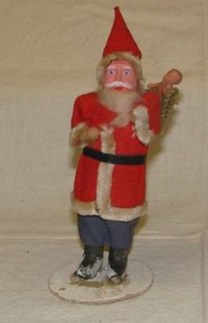 Santa, caught in the act of kidnapping baby Jesus!