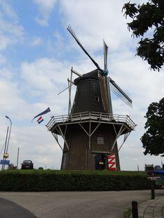 de Molen in Garnwerd. Groningen