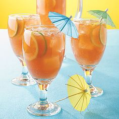 Bring summer into your kitchen with this fun and flavorful punch recipe. Fruity drinks are perfect when you need to cool off on a hot...