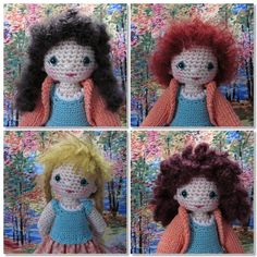 This blog is one of the best for finding out how to make crocheted dolls- Full of free patterns and tutorials too