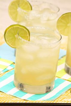 Beer Margaritas — Might just be your favorite margarita ever...prep a whole pitcher in a minute!