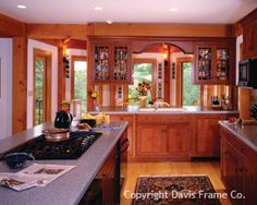 Kitchen/dining combination