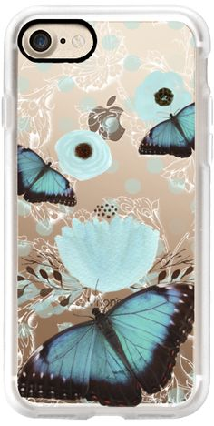 Casetify iPhone 7 Classic Grip Case - B Butterfly by Li Zamperini Art #Casetify