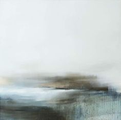 "focus-damnit: "" xanthippe tsalimi - Oil, Painting ""endless"", 100x100cm """