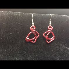 Selling this Earrings in my Poshmark closet! My username is: chicketee2. #shopmycloset #poshmark #fashion #shopping #style #forsale #Custom made #Jewelry