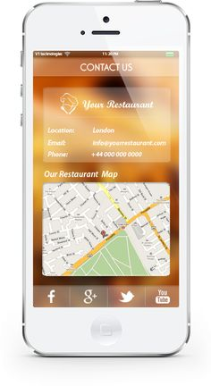 our #restaurantapp comes ready with Mobile Ordering Feature, making it easy for your customers to book