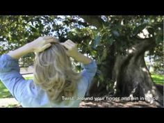 Hair Romance TV episode 1 hair tutorial - How to do the Twist & Pin