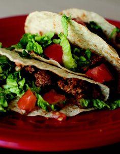 Happy Herbivore Lentil Taco Meat -   Yummy!