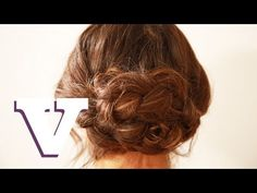 Quick Easy Plaited Updo: Binky's Boutique S05E3/8