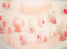 Dip-dyed tassels for Kelly's bohemian baby shower by Bash Please | Lovechild Photography | 100 Layer Cakelet