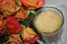 vegan joy: Lemon smoothie