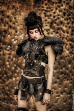 "falloutgallery: "" Raider Chick Wasteland Weekend """