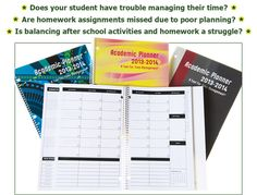Order Out Of Chaos Academic Planner - Help for students with ADHD, ADD #organization