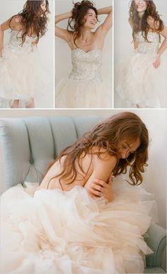 Kirstie Kelly wedding dress - I like this because it looks like a tutu! Wedding Dressses, Wedding Gowns, Wedding Boudoir, Wedding Wishes, Playing Dress Up, Bridal Style, Dream Wedding, Wedding Stuff, Designer
