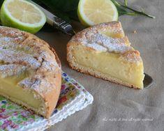 Crostata al limone un dolce cremoso e buonissimo,una crostata delicata e semplicemente divina!