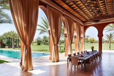 From CHRISTIE'S - Estate for Sale at Desert Rose Palace Marrakech Marrakech, Morocco