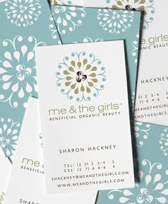 Me And The Girls Business Card    #Printing #Business Cards #Marketing