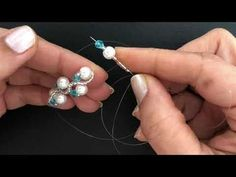Wedding Beaded Bracelet. DIY beaded bracelet - YouTube