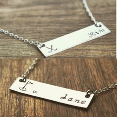 Personalized golf bar necklace for her for wife for girlfriend golfing golfer www.sierrametaldesign.com