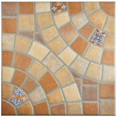 Buy the Affinity Tile Jet Teja Direct. Shop for the Affinity Tile Jet Teja Angora - Square Floor and Wall Tile - Smooth Ceramic Visual - Sold by Carton SF/Carton) and save. Ceramic Floor Tiles, Wall And Floor Tiles, Wall Tiles, Porcelain Floor, Spanish Tile, House Tiles, Circular Pattern, Stone Tiles, Rustic Feel