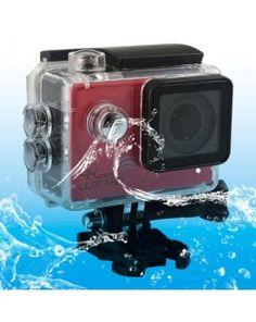 SJ8000 WiFi Novatek 96660 Ultra HD 4K 2.0 inch LCD Sports Camcorder with Waterproof Case, 170 Degrees Wide Angle Lens, 30m Waterproof(Red)