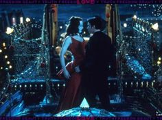 we could be heroes just for one day Ewan McGregor. Nicole Kidman. Moulin Rouge.
