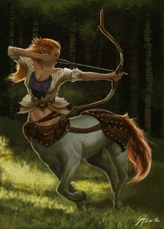 Fantasy Centaur by Unknown Artist Fantasy Inspiration, Character Inspiration, Character Portraits, Character Art, Female Centaur, Witcher Wallpaper, Arte Fashion, Fantasy Kunst, Mythological Creatures