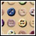 free button backing paper pack in 14 different coordinating colours