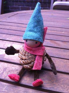Pine cone elf!