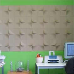 MIO V2 Paperforms - Natural - 3D Wall Tiles - PAINT & FINISHES.  Paintable .