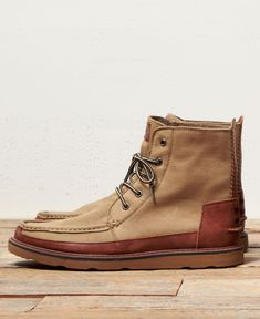 Introducing the Men's Wheat Brown Searcher Boot! #TOMS Give Back to School Contest