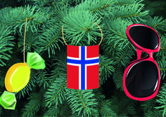 Week 1: Funfacts Norway - When I moved to Norway I got a cultural shock when I saw what they had on their Christmas Tree. Guess what might have shocked a German. PS: all images used are from Pixabay, no attribution required