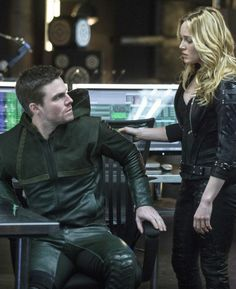 Arrow - Seeing red - Oliver Queen & Sara Lance