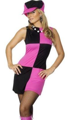 Amazon.com: Smiffys Retro Mod Hot Pink Go Go Dancer 60s 70s Adult Costume: Clothing