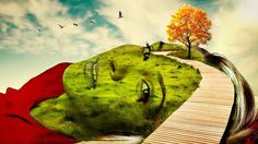 Photo Masking [Portrait and Landscapes] Photoshop Effects || #goGreen #surreal #surrealism #digitalart #photomanipulation #abstract #abstractart #nature #conceptart #conceptualphotography #fineartphotography