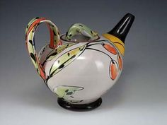 Linda Arbuckle pottery at MudFire Gallery