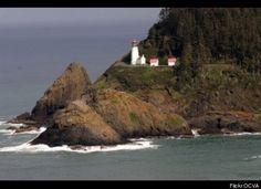 Heceta Head Lighthouse, Yachats, Oregon