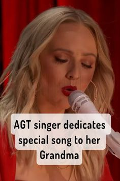 """Wisconsin-born-and-raised Madilyn Bailey is having a tough time catching a break from grumpy Howie Mandel on this season of America's Got Talent. The singer delivered an original emotional song dedicated to her late grandmother called """"Red Ribbon."""" #AGT #music #singing #songs #goodmusic America's Got Talent Videos, Howie Mandel, Emotional Songs, Tyra Banks, Tough Times, Red Ribbon, Looking Back, Good Music, Wisconsin"""
