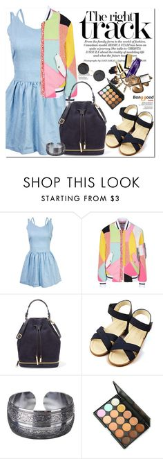 """""""♥♥♥"""" by oshint ❤ liked on Polyvore featuring Moschino, Halston Heritage, awesome, amazing, beautiful, dress and BangGood"""