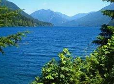 Crescent Lake... outside Port Angeles Wa.  One of the prettiest lake side drives of all!
