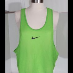 Women's Nike neon Mesh Tank Top Excellent condition Nike Tops Tank Tops